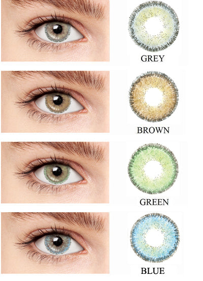 Blincon Blossom 3 Months 2 Lenses Colour Chart