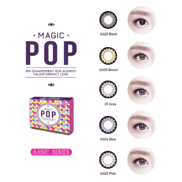 Magic Pop Basic Series 2 Lenses
