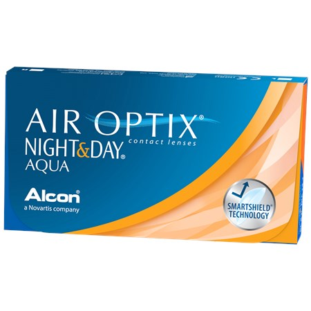 Air Optix Night & Day Aqua Monthly 3 Lenses Large