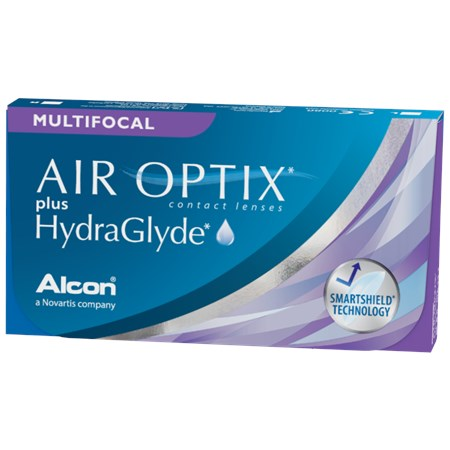 Air Optix Aqua Multifocal Monthly 3 Lenses Large