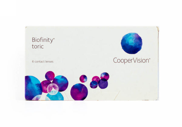Biofinity Toric Monthly 6 Lenses Large