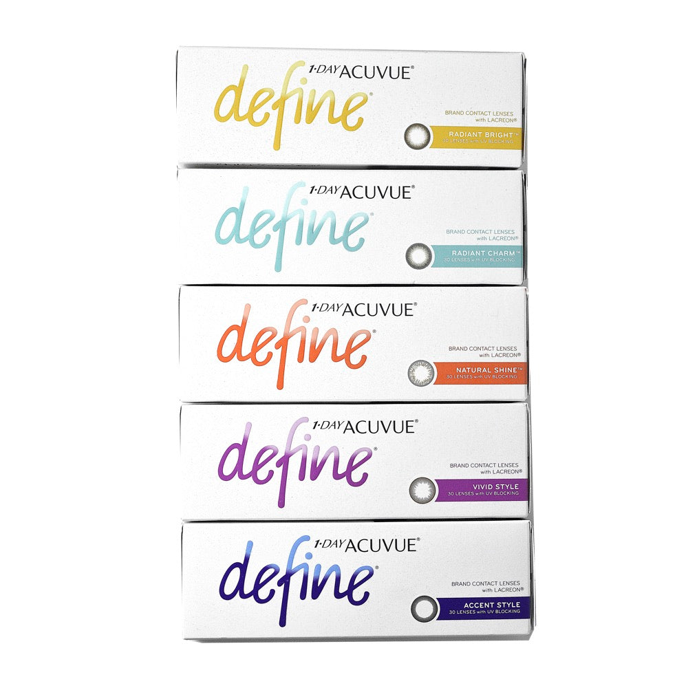 1-Day Acuvue Define 30 Lenses Large