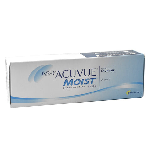 1-Day Acuvue Moist 30 Lenses Large