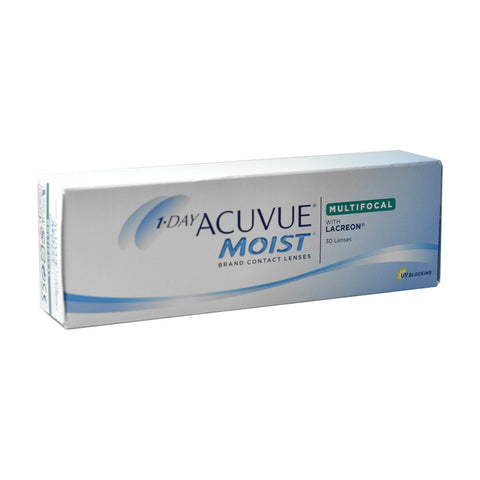 1-Day Acuvue Moist Multifocal 30 Lenses Large