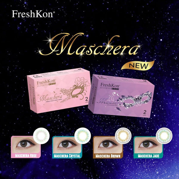Freshkon Alluring Eyes Maschera Monthly 2 Lenses