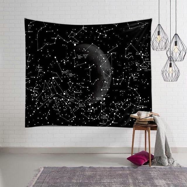 Tenture Murale Constellation - 130 x 150cm