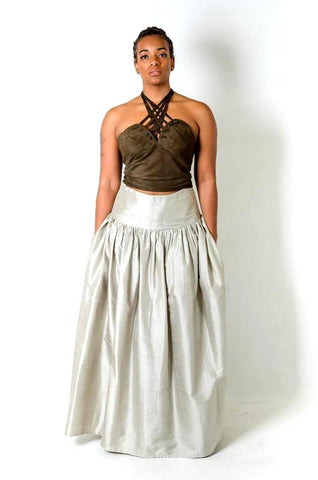 Diana Halter Top/Skirt w/pockets