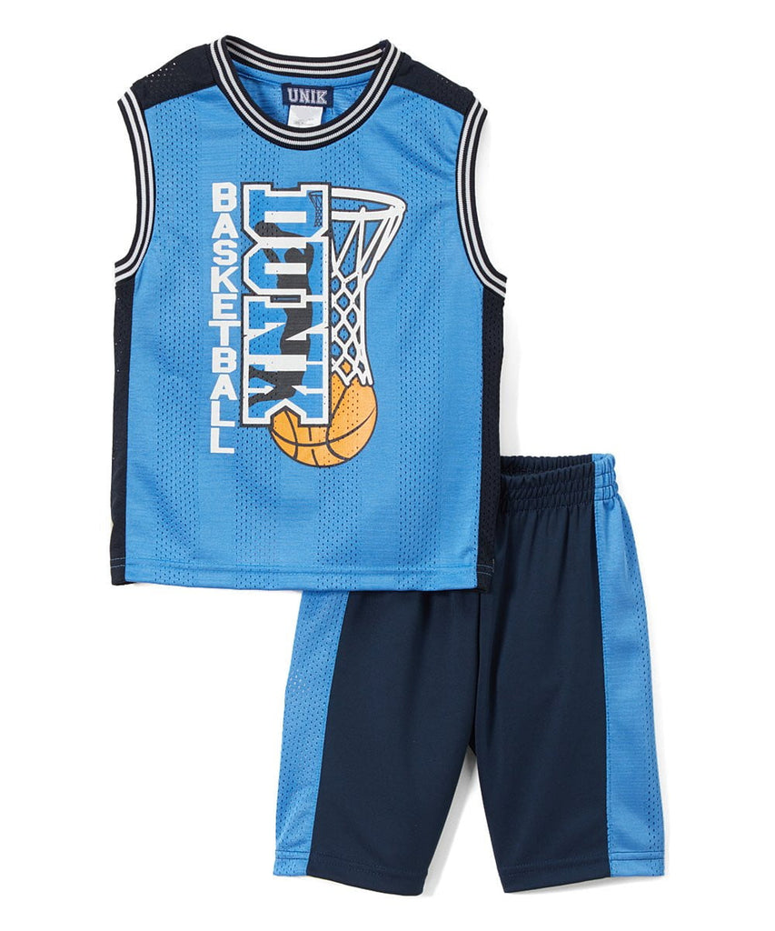 Boy's Basketball Short Set