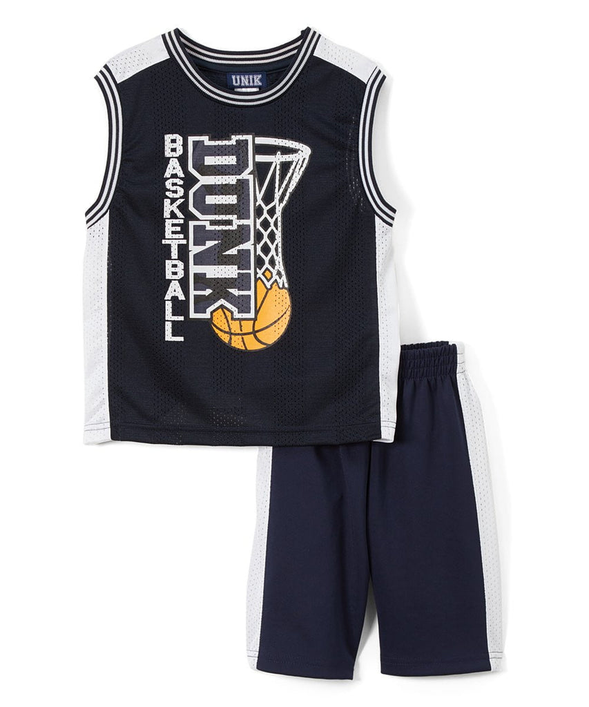 unikinc - Boy's Basketball Short Set - Unikinc