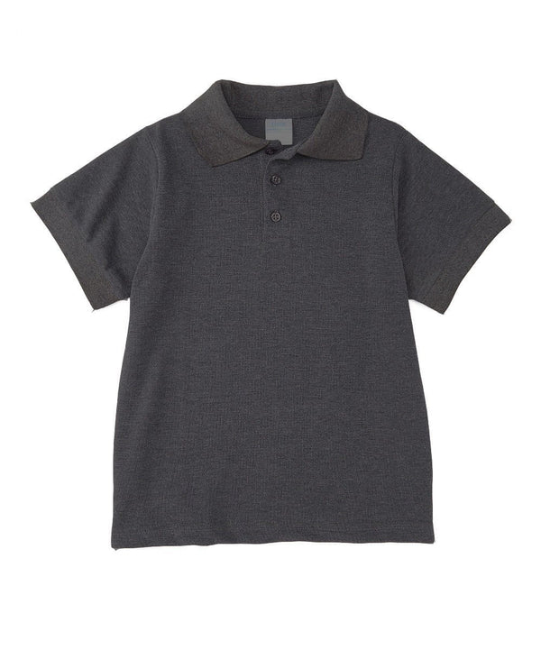 Boys Uniform Polo Shirt Dark Grey