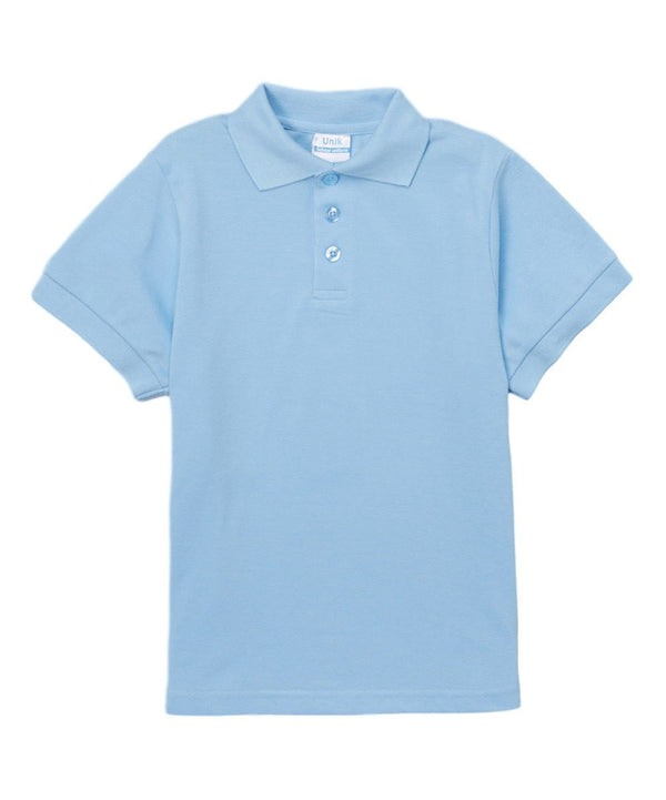 unikinc - Boys Uniform Polo Shirt Sky Blue - Unikinc