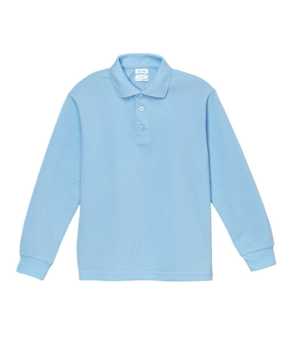 unikinc - Boys Long Sleeve Uniform Shirt - Unikinc