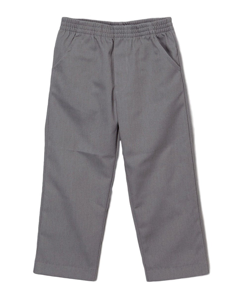 unikinc - unik Boy's Uniform All Elastic Waist Pull-on Pants - Unikinc