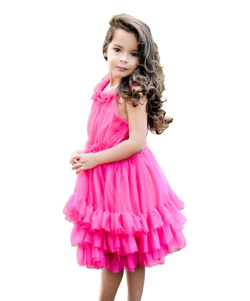 unik Girl Tulle Layered Dress Size 4-10