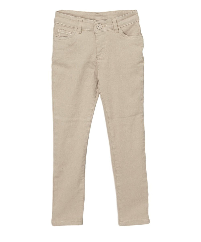 unikinc - Girl's Uniform Skinny Pants - Unikinc