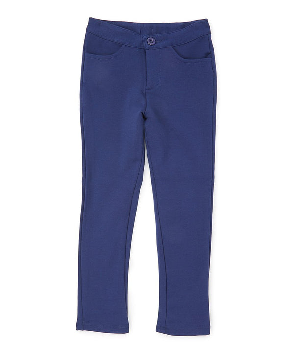 unikinc - Girl Stretch School Uniform Pants - Unikinc