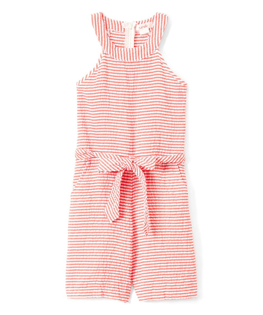 unikinc - Girl Striped Romper - Unikinc