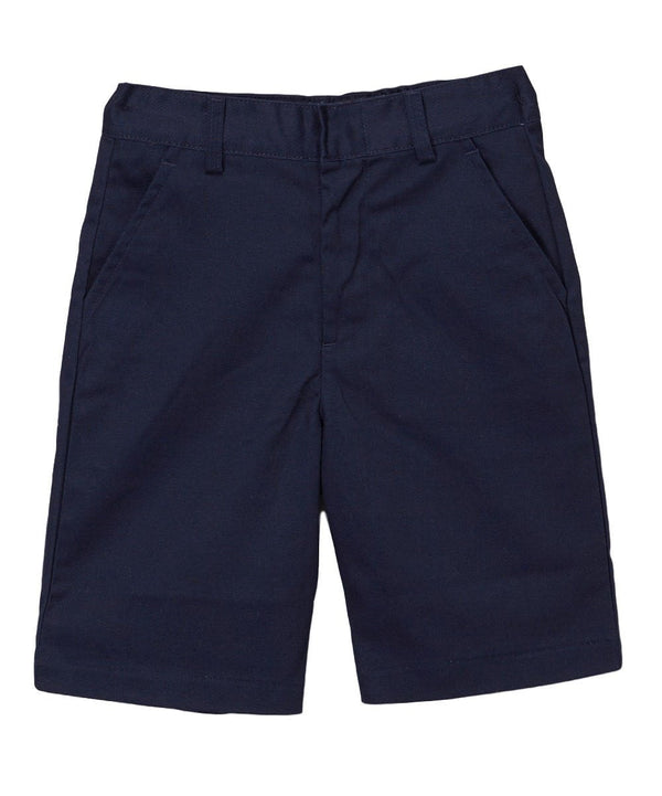 Boy Uniform Shorts With Adjustable Waist