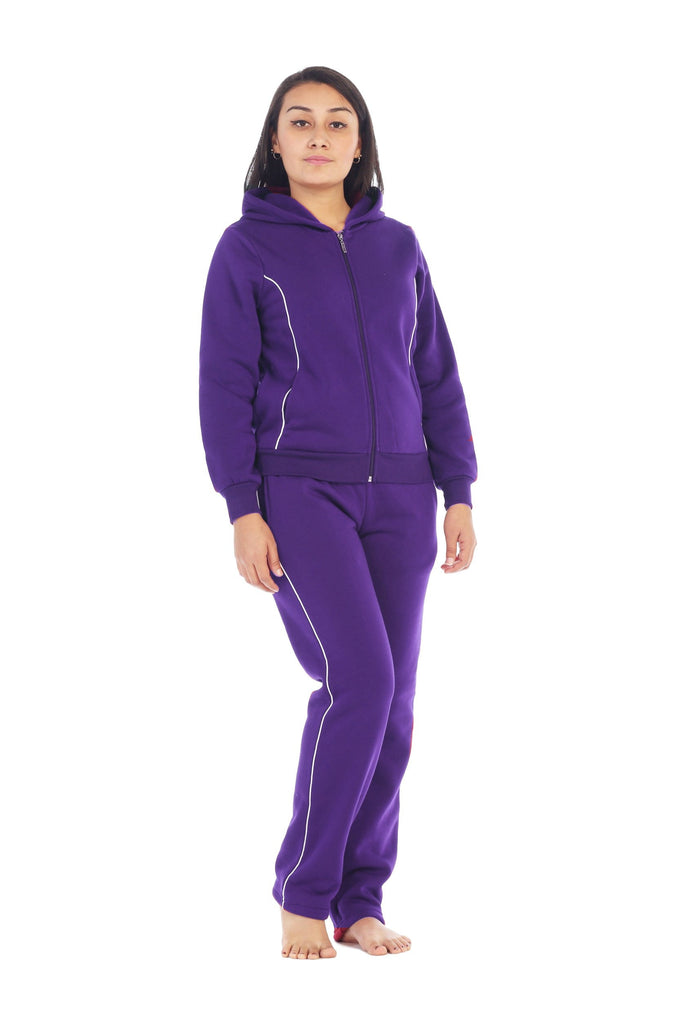 Women's Fleece Matching Tracksuit