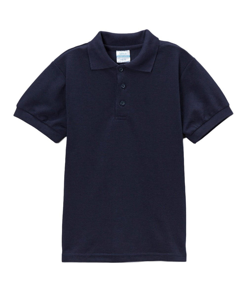 unikinc - Boys Uniform Polo Shirt Navy - Unikinc