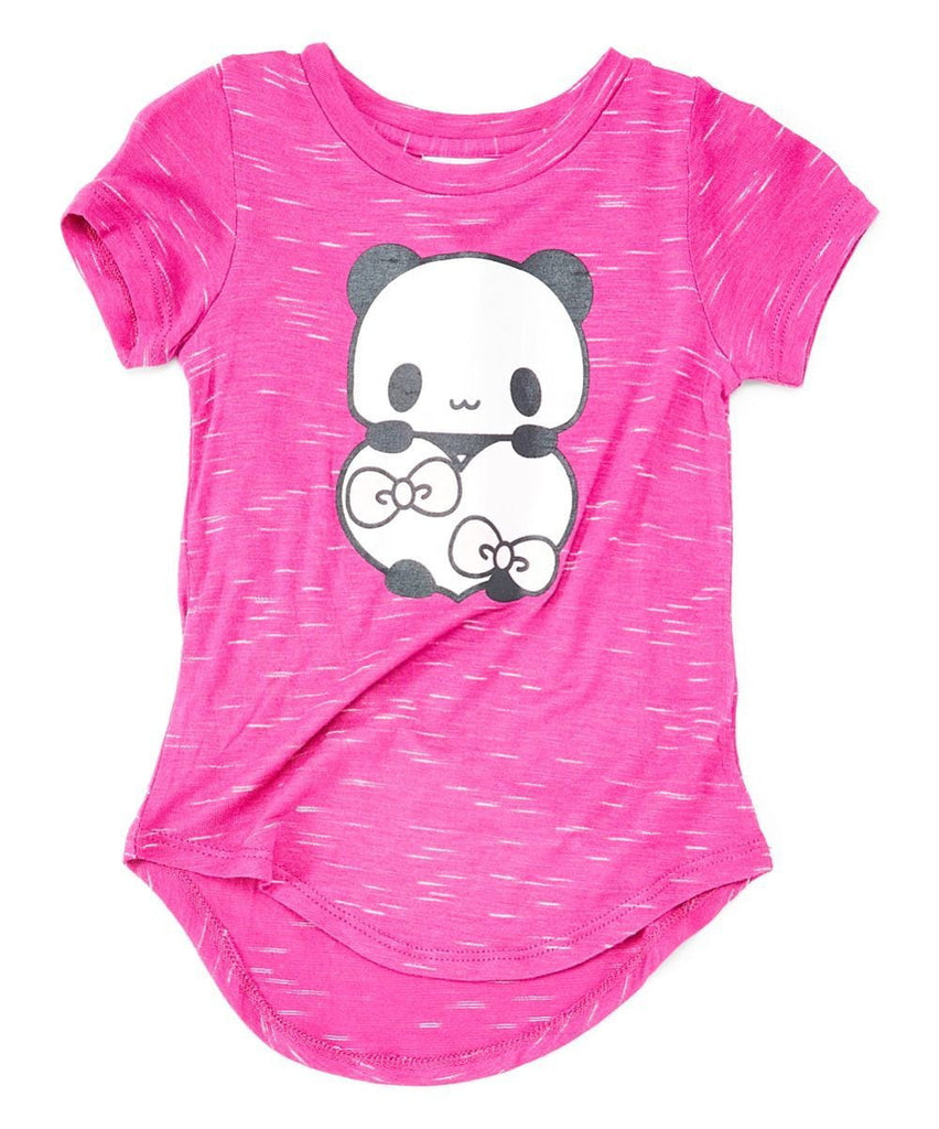 unikinc - Copy of Panda Heart Girls Blouse Fuchsia - Unik Inc