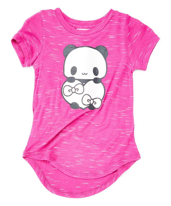 Copy of Panda Heart Girls Blouse Fuchsia