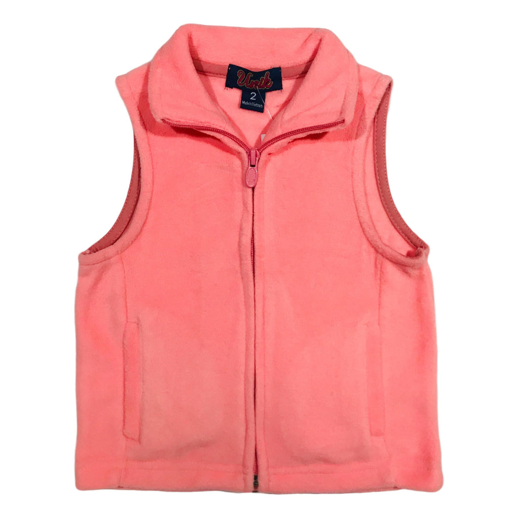 Kids Vest Fleece