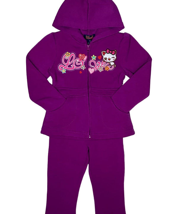 unikinc - Girl Love Tracksuit - Unik Inc