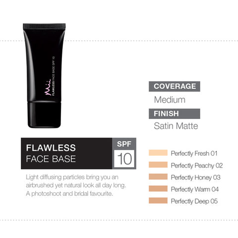 Flawless Face Base - Perfectly Warm 04