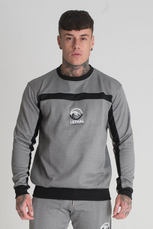 mens grey sweatshirt