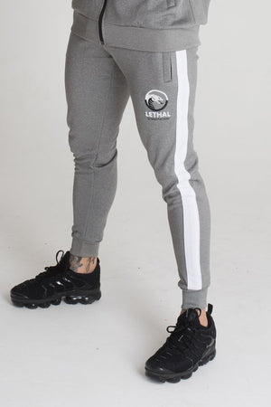 grey tracksuit bottoms