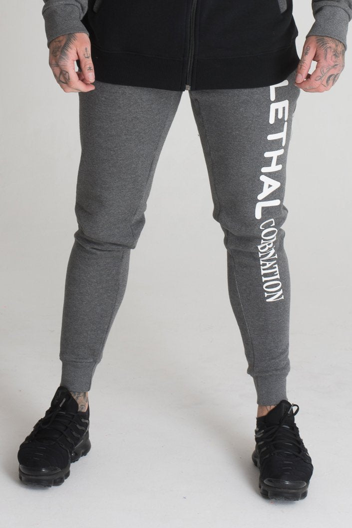 mens grey tracksuit bottoms