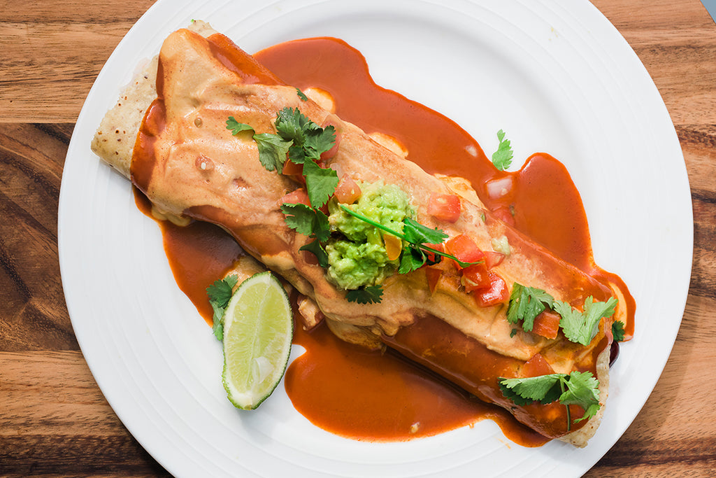 Coconut Cheese Melt Enchilada