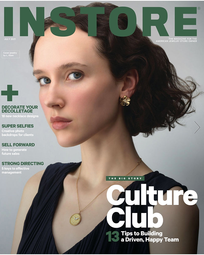 July 2021 Cover of Instore Magazine