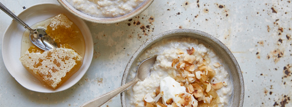 Dad's Porridge with a Mavericks Twist