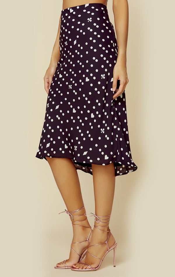 sandra-skirt-womensbottomsskirts-blue-life-midnight-mixed-dot-xs-planet-blue