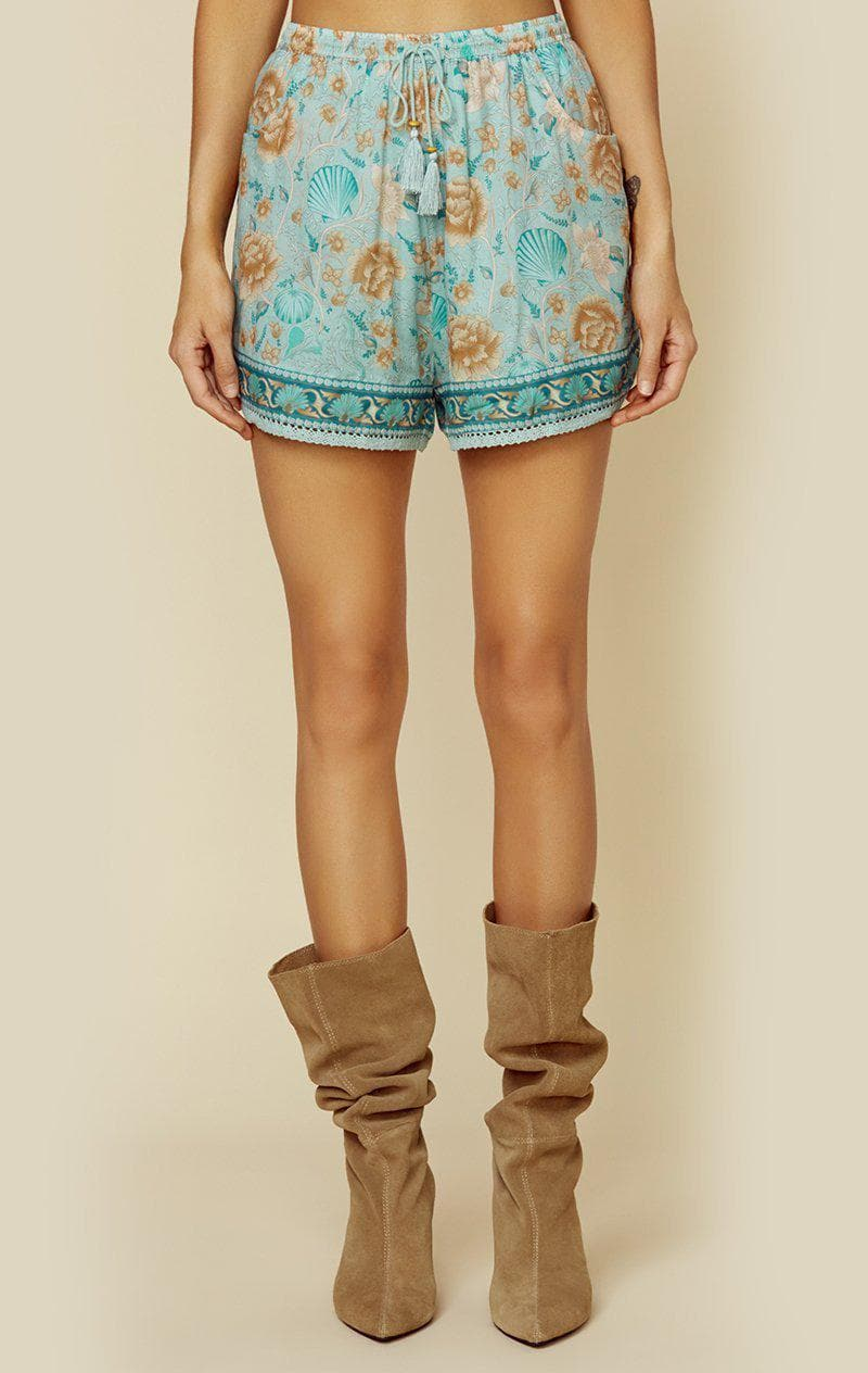 SPELL & THE GYPSY COLLECTIVE SEASHELL SHORT | New - SEAFOAM
