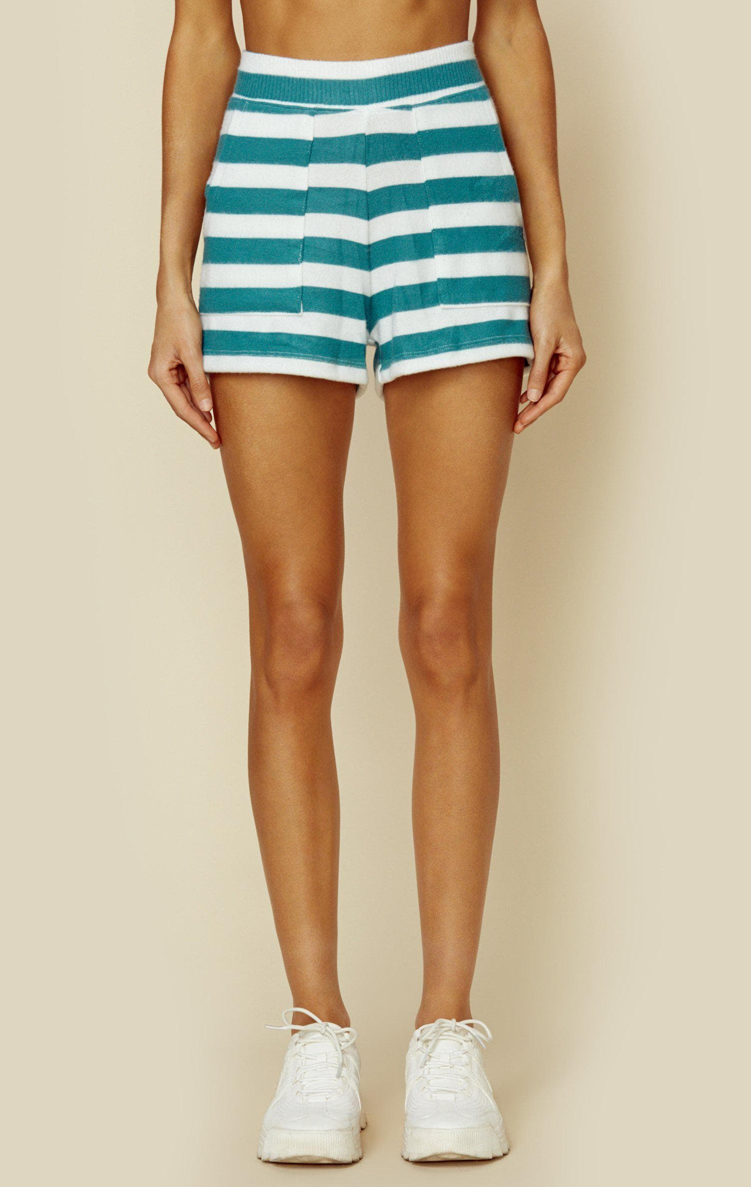 LNA Clothing SIMON SHORT - SEA STRIPE