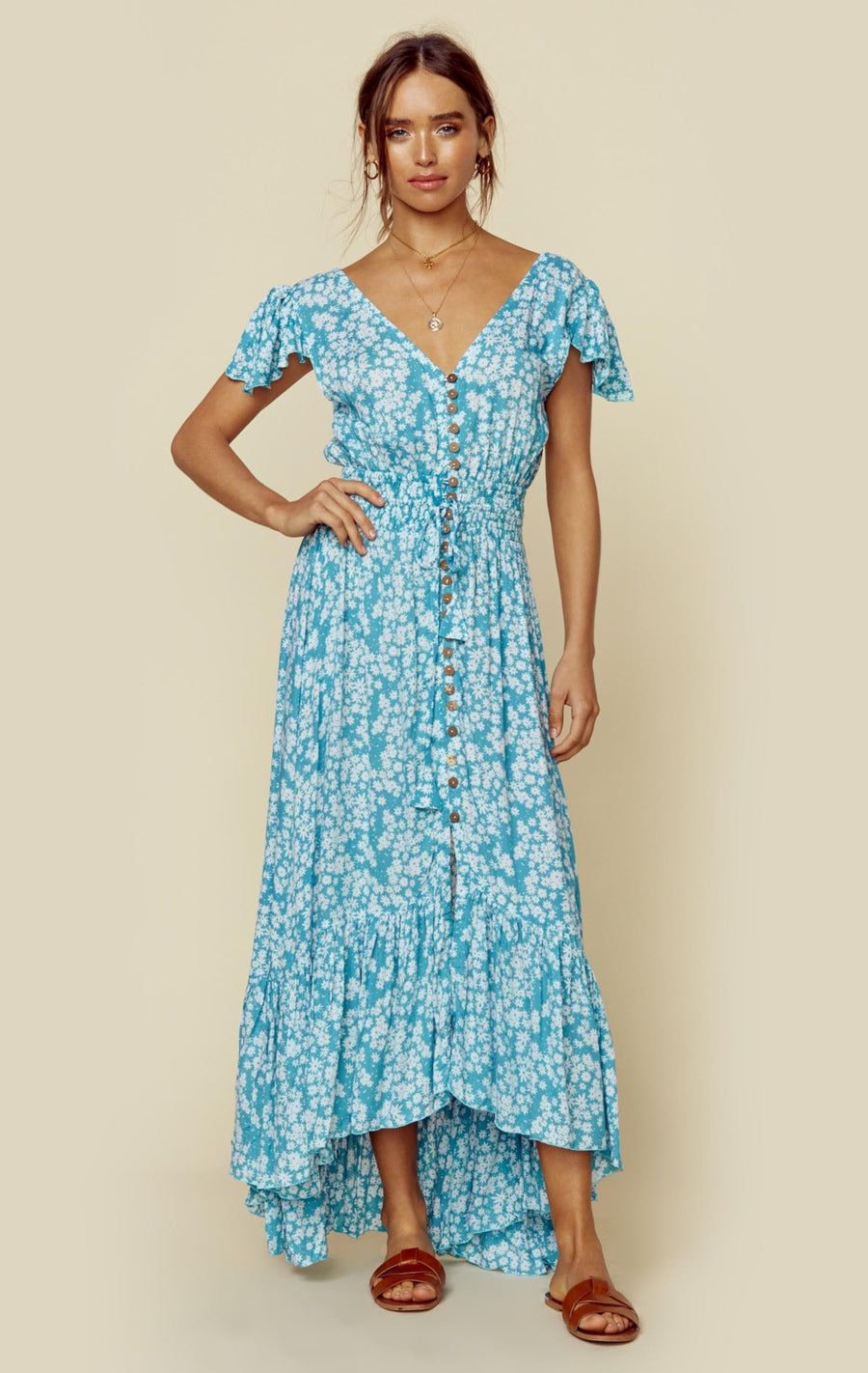 18a532754b NEW MOON MAXI. SCATTERED DAISY TOSCA; SCATTERED DAISY TOSCA ...