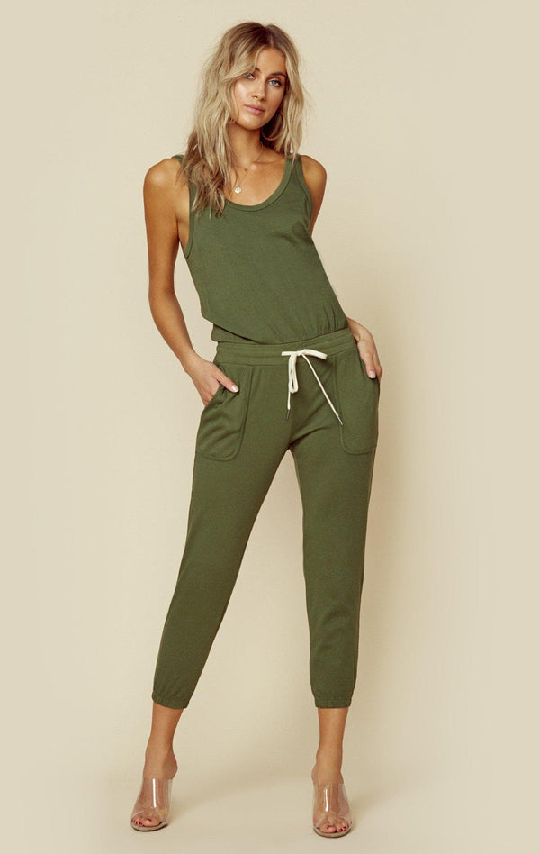 SILVER JUMPSUIT-WOMENSTOPSROMPERS-PHILANTHROPY-ARMY-XS-Planet Blue