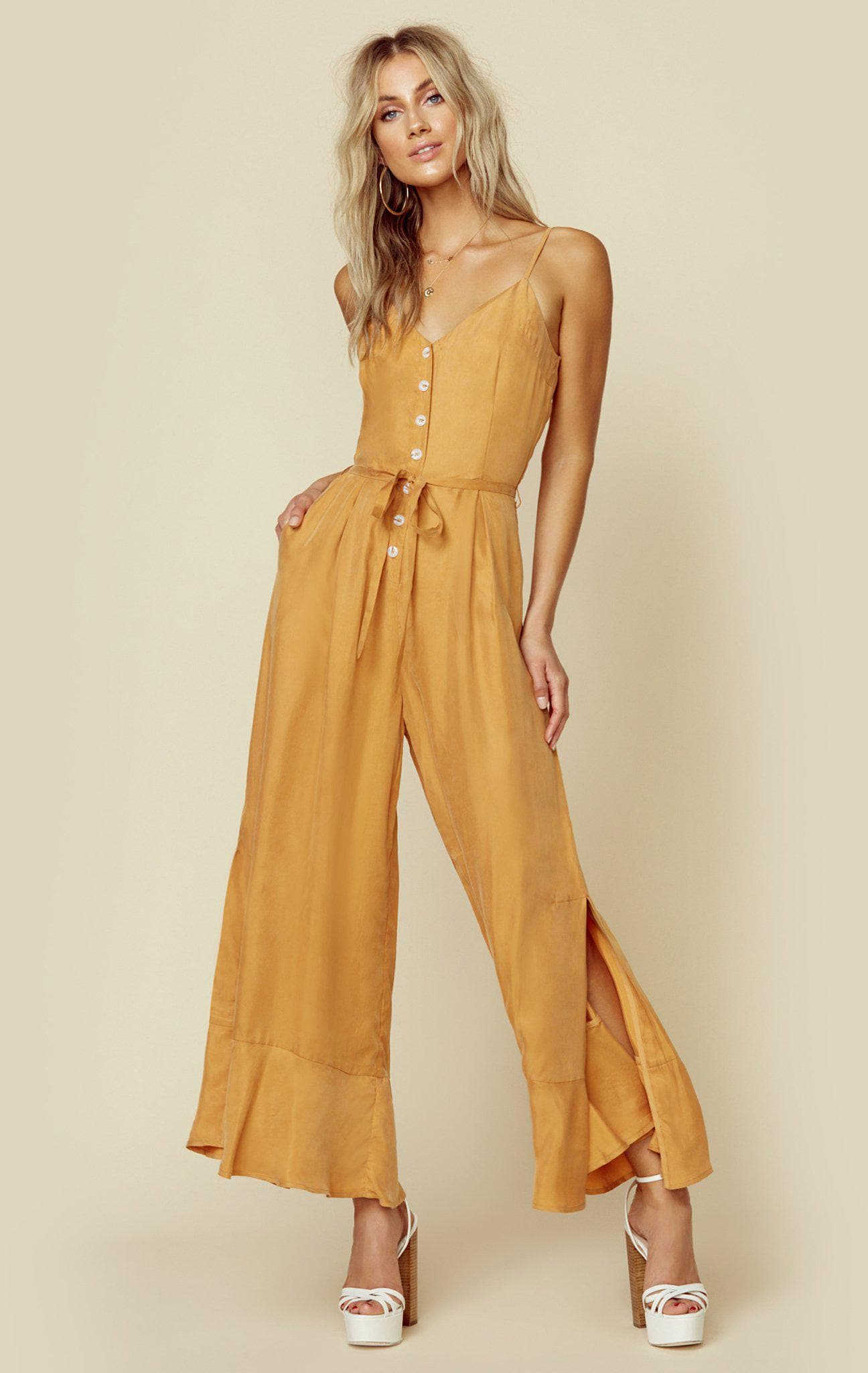SANCIA LIA JUMPSUIT - BUCKWHEAT