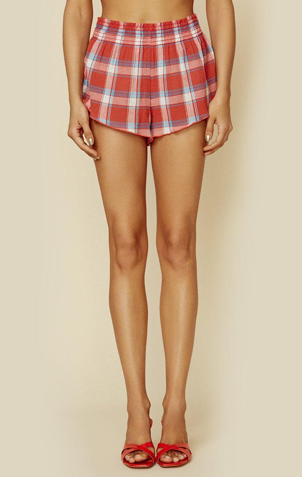 CHERRY PLAID