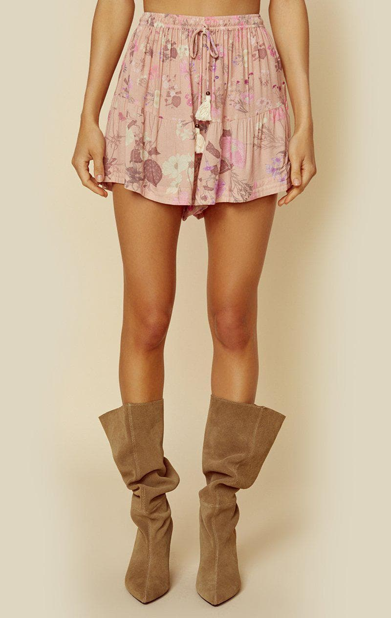 SPELL & THE GYPSY COLLECTIVE WILD BLOOM SHORTS - BLUSH