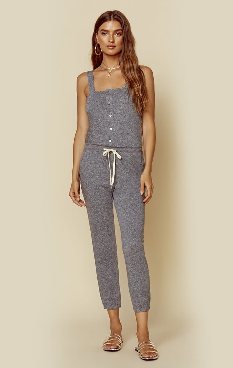 n:PHILANTHROPY BERRY-JUMPSUIT - HEATHER GREY