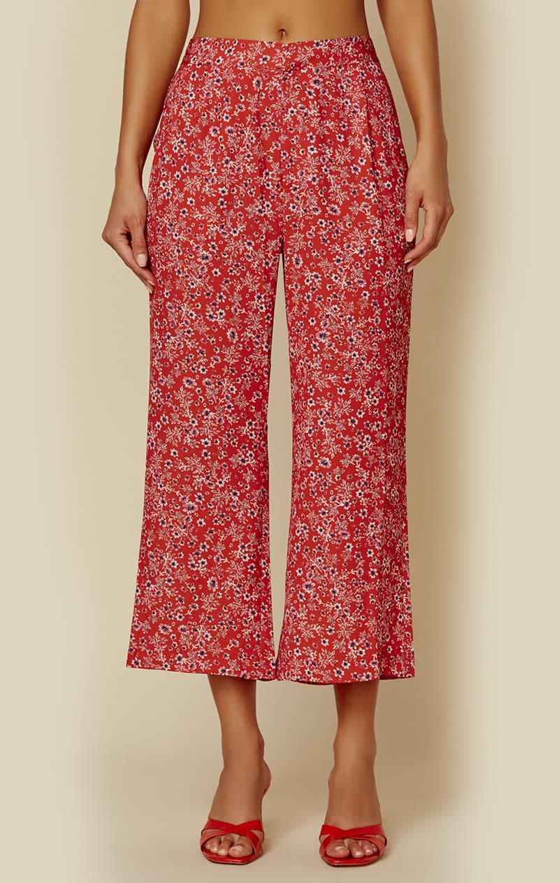 BLUE LIFE CAMILLA PANT - CHERRY DITSY FLORAL