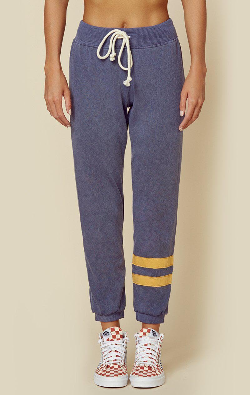 SUNDRY SWEATPANT WITH STRIPES - PIGMENT NAVY
