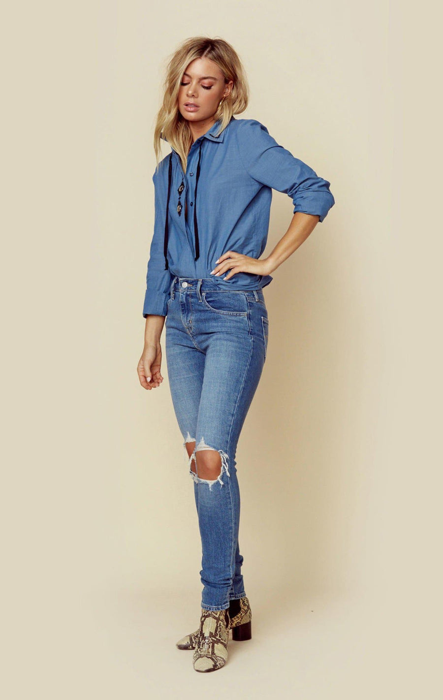 DENIM CHAMBRAY