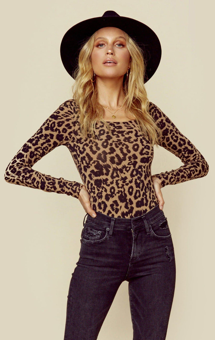LEOPARD TERRY
