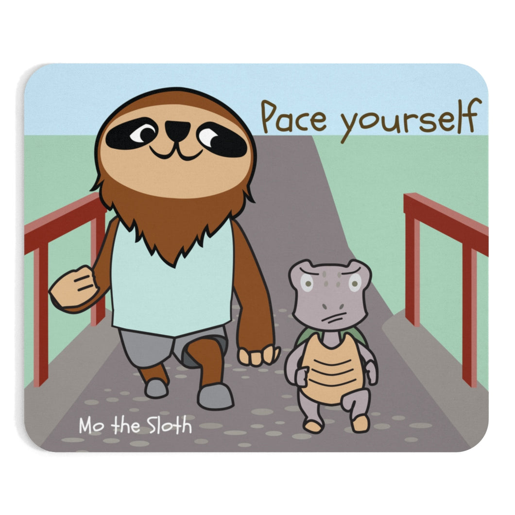 Mo the Sloth Mousepad - Pace