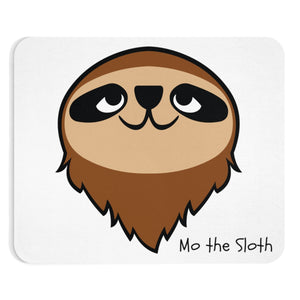 Mo the Sloth Mousepad - Head